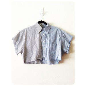 Furst Of A Kind Button Down Striped Short Sleeve